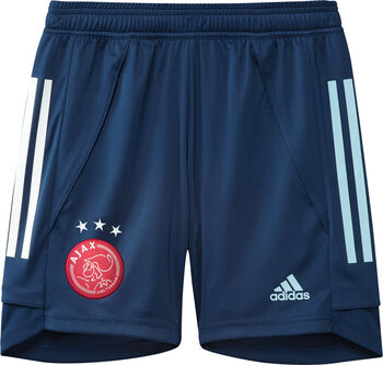 ADIDAS Ajax trainingsshort kids 2020/2021 Jongens Blauw