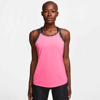 Nike Pro Elastika top Dames Roze