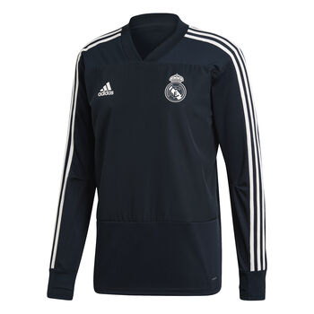 ADIDAS Real Madrid Training longsleeve Heren Wit