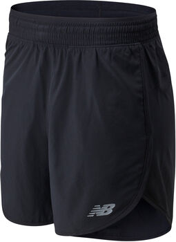New Balance Accelerate 5-inch short Dames Zwart