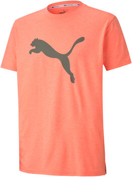 Puma Heather Cat shirt Heren Oranje