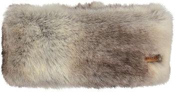 Barts Fur hoofdband Dames Bruin