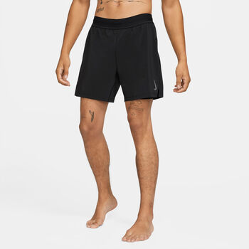 Nike Yoga Luxe short Heren Zwart