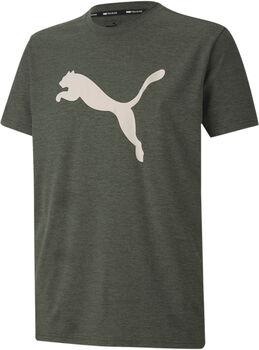 Puma Heather Cat shirt Heren Groen