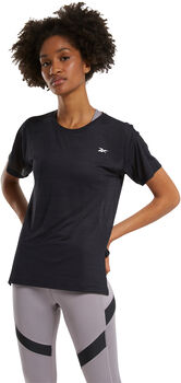 Reebok Workout Ready ACTIVCHILL T-shirt Dames Zwart