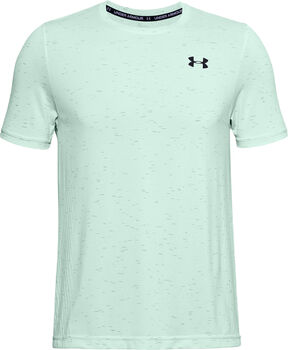 Under Armour UA Seamless shirt Heren Blauw
