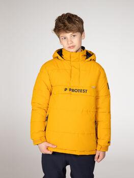 Protest Dylan ski-jas Jongens Geel