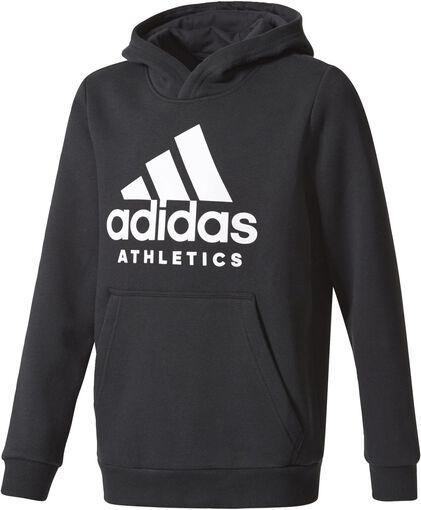 Adidas - Sport ID jr hoodie - Jongens - Sweaters - Zwart - 140
