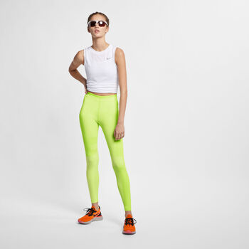 Nike RN Knit Tech Pack tight Dames Geel
