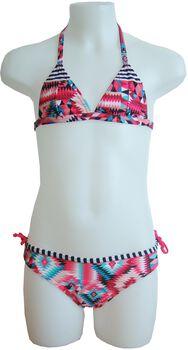 Manouxx Kaleidoscope Triangle jr bikini Meisjes Rood