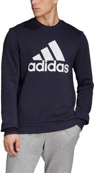 adidas Badge of Sport Fleece Sweatshirt Heren Blauw