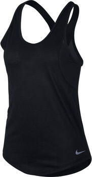 Nike 10k Jacquard top Dames Zwart