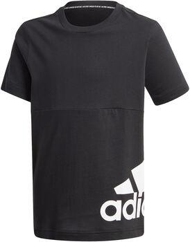 adidas Must Haves Big Logo kids shirt  Jongens Zwart