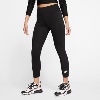 Nike Air 7/8 tight Dames Zwart