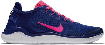 Nike Free RN 2018 hardloopschoenen Dames Blauw
