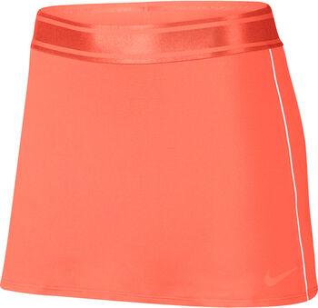Nike Dry tennisrokje Dames Oranje
