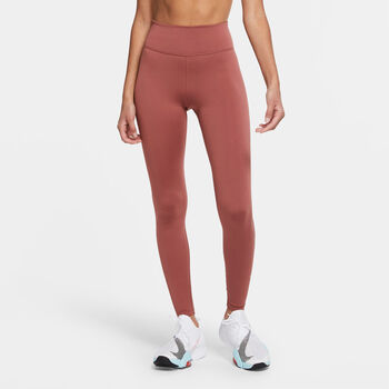 Nike One Icon Clash legging Dames Rood