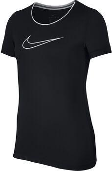 Nike Pro shirt Meisjes Zwart