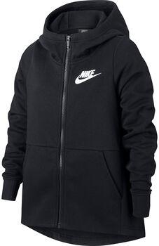 Nike Sportswear STMT hoodie Meisjes Zwart