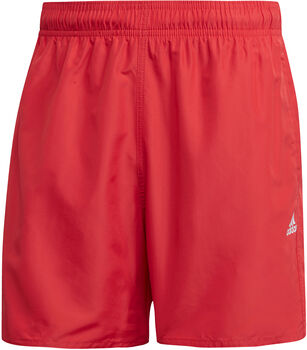 adidas CLX Solid zwemshort Heren Rood