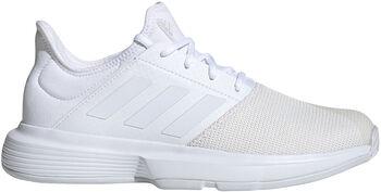 adidas GameCourt tennisschoenen Dames Wit