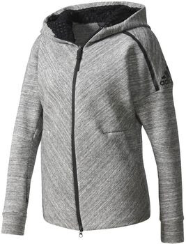 Adidas Z.N.E. Travel hoodie Dames Grijs