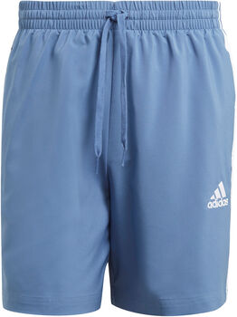 adidas AEROREADY Essentials Chelsea 3-Stripes Short Heren Blauw
