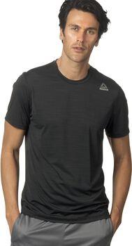 Reebok Workout Activchill Tech shirt Heren Zwart