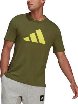adidas Sportswear Logo T-shirt Heren Groen