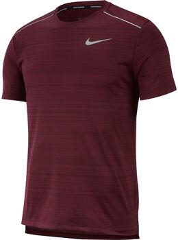 Nike Dri-FIT Miler shirt Rood