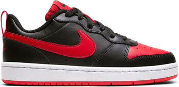 Nike Court Borough Low 2 sneakers Jongens Zwart