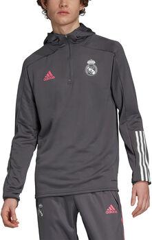 adidas Real Madrid Trainingshoodie 20/21 Heren Grijs