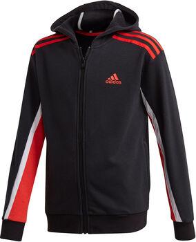 adidas Bold Full-Zip kids hoodie  Jongens Zwart