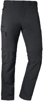SCHÖFFEL Koper Zip-Off broek Heren Zwart