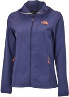 The North Face Full Zip hoodie softshell Dames Blauw