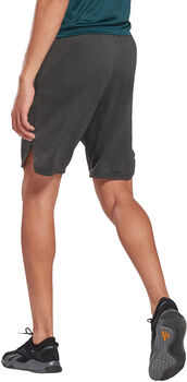 Reebok Workout Ready Mélange Short Heren Zwart