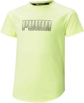 Puma Runtrain t-shirt Meisjes Geel