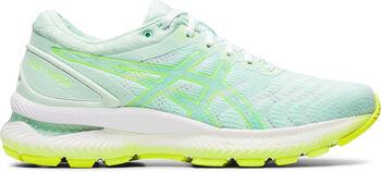 Asics GEL-Nimbus 22 hardloopschoenen Dames Groen