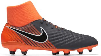 Nike Magista Obra 2 Academy Dynamic Fit FG voetbalschoenen Grijs