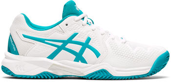 ASICS GEL-Resolution 8 Clay kids tennisschoenen  Jongens Wit
