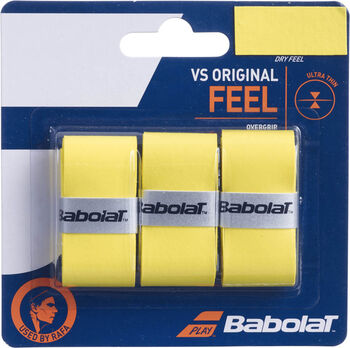 Babolat VS Original X3 overgrip Geel