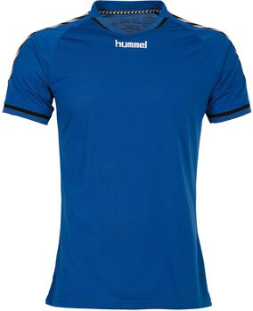 Hummel Authentic T-shirt Heren Blauw