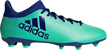 ADIDAS X 17.3 FG voetbalschoenen Heren Zwart