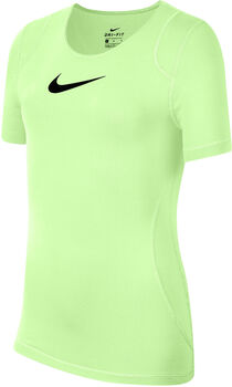 Nike Pro shirt Geel