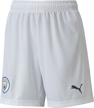 Puma Manchester City kids short 20/21 Wit