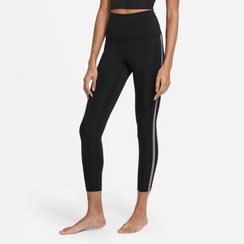 Nike Yoga Novelty 7/8 legging Dames Zwart