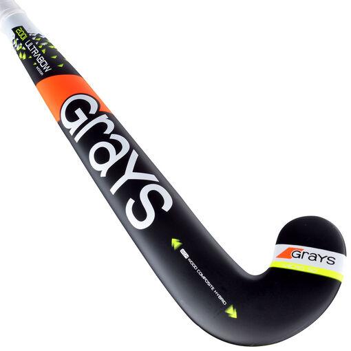 Grays - 200i Ultrabow Indoor jr zaalhockeystick - Jongens - Hockeysticks - Zwart - 32