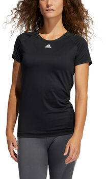 adidas Performance t-shirt Dames Zwart