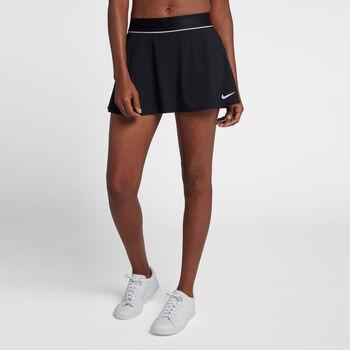 Nike Court Dry tennisrokje Dames Zwart