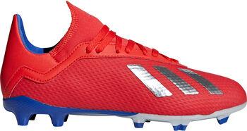 ADIDAS X 18.3 FG voetbalschoenen Rood